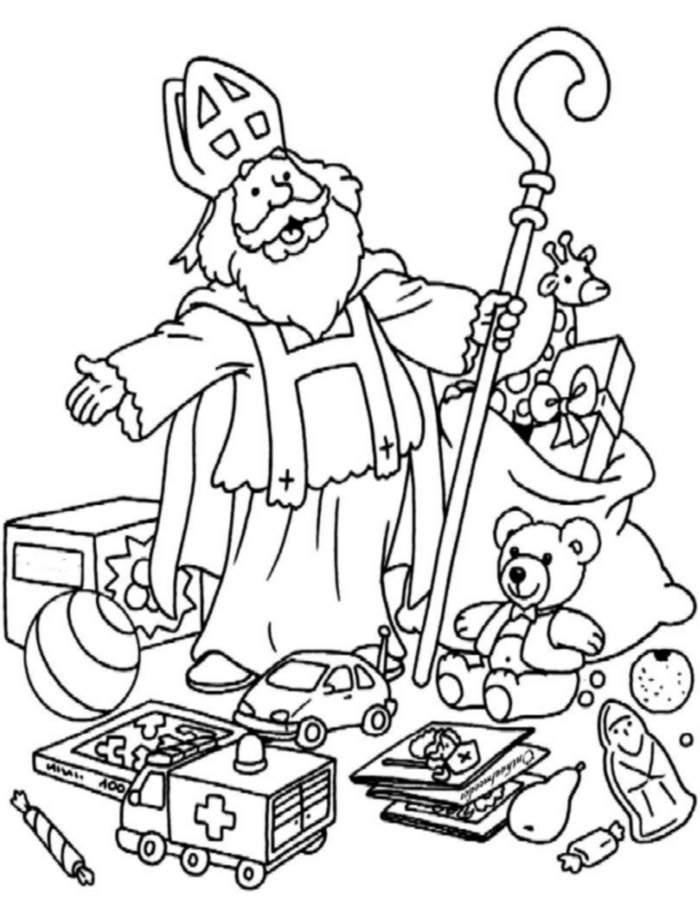 Kleurplaten Website Van Sinterklaas